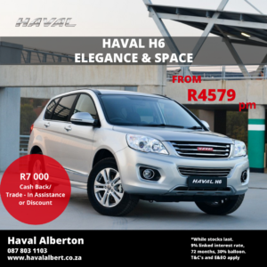 Haval H6 - ELEGANCE AND SPACE