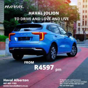Haval Jolion - Fall in love