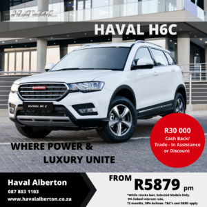 Haval H6C - Where Power and Luxury Unite