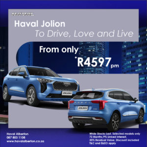 Haval Jolion - To Drive, Love and Live