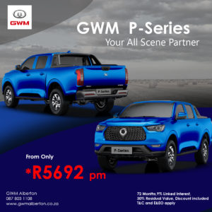THE GWM P-SERIES -  Your All Scene Partner