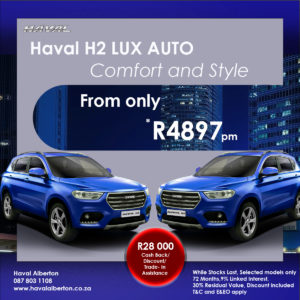 Comfort and Style - Haval H2 Lux Auto