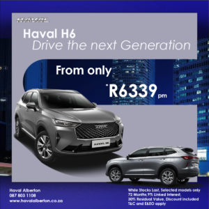 Drive the Next Generation Haval H6
