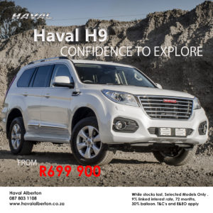 Confidence to Explore - Haval H9